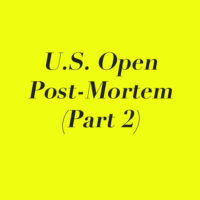 U.S. Open Post-Mortem (Part 2): Wawrinka Wins! A New 'Big Three'?