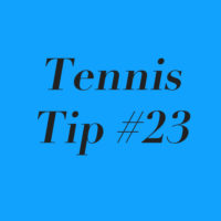 Tennis Tip #23: Punish the Pusher!
