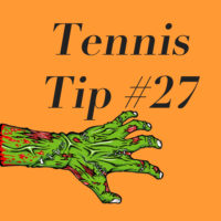 HALLOWEEN SPECIAL! Tennis Tip #27: How To Kill A Zombie (Arm)!