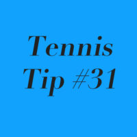 Tennis Tip #31: When Playing An Unconventional Opponent, Make It All About U!