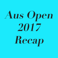 2017 Australian Open Takeaways