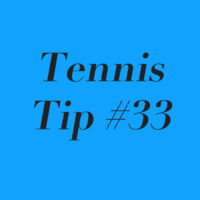 Tennis Tip #33: Being Intense Vs. Being Tense!