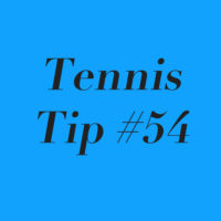 Tennis Tip #54: Unsatisfying Win? Learn From It!