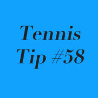 Tennis Tip #58: Always Maintain Your Composure; YOU Are In Control!